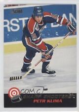1992-93 Score Canadian Sharp Shooters #24 Petr Klima Edmonton Oilers Hockey Card