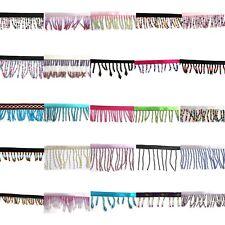 Perlen Borte-Bugle Samen Fransen Kante Trimmen Tassel-Tanz - 1 Meter 25 Farben