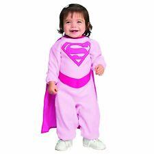 Supergirl - Infant Baby Girl Superman Pink Romper Costume