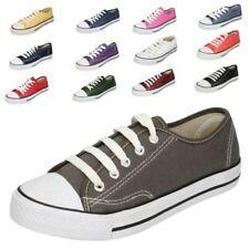 hommes Spot On Toile Chaussures à lacets