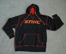 STIHL Officially Licensed Apparel Black & Orange Hooded Sweatshirt