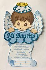 10pc Bautizo Baptism Centerpiece Decoration Foam Girl-Boy Favor Angel Prayer