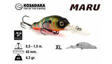 Leurre poisson nageur Maru XL 45F KOSADAKA 45mm 4,3g pêche truite perche chub