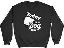 Today is a Dog Day Boys Girls Kids Childrens Sweatshirt