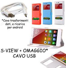 COVER CUSTODIA MAGNETICA FLIP VIEW PER LG G5 H850 + OMAGGIO CAVO USB