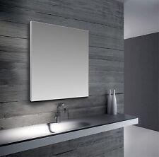 Specchio su misura personalizzato moderno a parete con cornice a filo in pvc