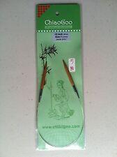 ChiaoGoo 12 Inch Moso Bamboo Circular Knitting Needles - Dark Patina MPN 2012
