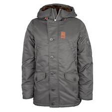 Vintage Industries Jacket Mitchel Parka Men's Winter Jacket Grey