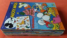 Micky Maus Hefte des Jahrgang 1989 mit Beilagen, sehr guter Zustand, zur Auswahl