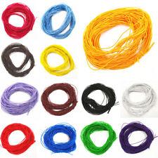 10.9yds//Roll Braided Nylon Threads Round Beading Macrame Rattail Threads 2mm DIA