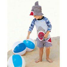 Mud Pie E8 Shark Tank Baby Toddler Boy Camo Shark Rash Guard 1022116 Choose