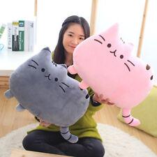 Cartoon Cat Cushion Plush Stuffed Throw Pillow Kitty Kids Toy Doll Home Decor