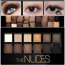 12 Couleurs Palette Fard Ombre à Paupières Mat Glitter Eyeshadow Maquillage Neuf