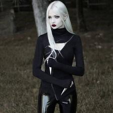 T-Shirt Tank Top Moonlight Magpie Elster Mond  Occult schwarz Gothic Horror Punk