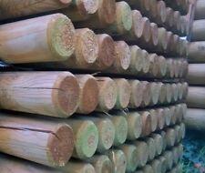 Pali tondi in legno senza punta in pino impregnati in autoclave per recinzioni