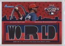 2010 Bowman Future's Game Triple Relics #FG-LS Leyson Septimo Baseball Card