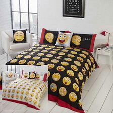 Emoji Duvet Set Icons & Emocations Reversible Quilt Cover