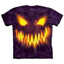 THE MOUNTAIN Big Face Jack Kids/Boys/Child/Girls T-shirt, Halloween/pumpkin