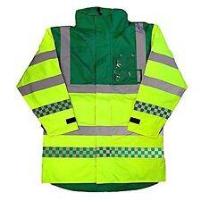 Paramedic Coat Jacket Emergency EMT Ambulance Visibility Safety Coat 5 Sizes
