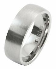 7MM Brushed Grade 5 Titanium Comfort Fit Ring Wedding Band