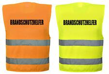 Hochwertige Brandschutzhelfer Warnweste in 4  größen