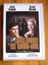 DVD MELODIE EN SOUS SOL - GABIN / DELON / AUDIARD - NEUF