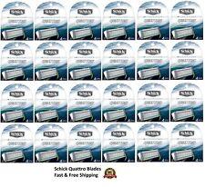 Schick Quattro Razor Blades Men Refill Cartridges 4 8 16 32 64 96 Shaver Quatro