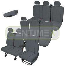 Sitzbezüge Schonbezüge SET QA VW LT Kunstleder schwarz