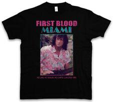 First Blood Miami T-shirt Vice JOHN RAMBO Sylvester Fun 80 S Stallone T Shirt