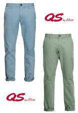 Qs By S.Oliver Homme Chino Pantalon Loisir Fête Clubwear Business Travail