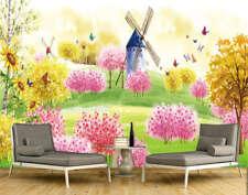 Various Fairy Flower 3D Full Wall Mural Photo Wallpaper Printing Home Kids Decor