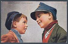 NAPOLI CITTÀ 87 COSTUME COSTUMI - SCUGNIZZI Cartolina