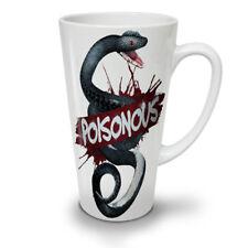 Snake Beast Poison Animal NEW White Tea Coffee Latte Mug 12 17 oz   Wellcoda