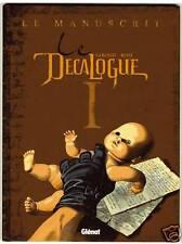 DECALOGUE TOME 1  LE MANUSCRIT  GIROUD BEHE   EO