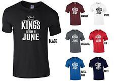 Kings sono nati nel mese di giugno T-shirt-Cool Divertente Regalo Di Compleanno