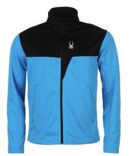 SPYDER Ryder hommes Midlayer veste noir bleu toutes tailles neuf avec étiquette