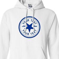 Custom Inverse HOODIE Personalized Hip Hop All Star Chucks Sneaker Sweatshirt