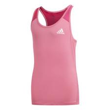 Adidas Bambini Giovane Ragazze Tshirt Logo Canottiera da Corsa, Allenamento