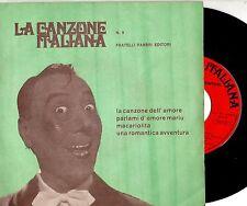 LUCIANO VIRGILI CLAUDIO VILLA ERNESTO BONINO disco EP 45 giri MADE in ITALY