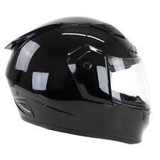 TORC Phantom T19 Full Face Racing Motorcycle Helmet - DOT ECE - Gloss Black