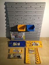Allit Lochwand Endloswand Werkzeugwand Stapelbox Sichtbox Werkzeughalter Haken