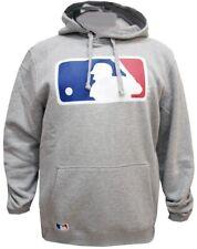 New Era MLB Logo Hoody Grey Sweater Hoodie Hoody Pullover Herren Mens Neu New