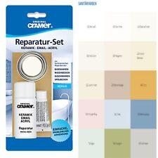 CRAMER Reparatur-Set diverse Farben für Keramik, Emaille und Acryl Reparaturlack