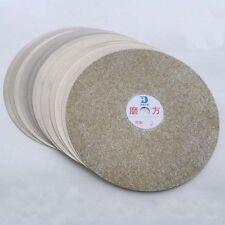 "8"" INCH Diamond coated Flat Lap wheel Jewellery grinding polishing disc UK"