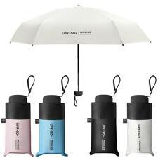 Mini Pocket ultra-light Umbrella Sun Anti UV 5 Folding Rain Windproof Dual Use