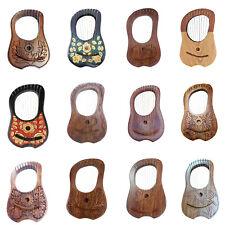 Traditional Irish Lyre Harp 10 Metal String Free String Set Various Designs