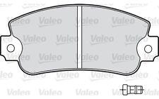 4x VALEO Plaquettes de Frein Arrière pour Fiat Argenta 2000 Volumex