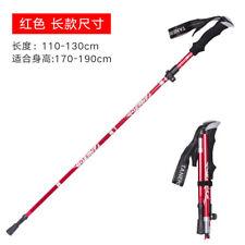 Portable 5-sections Trekking Walking Hiking Sticks Poles Alpenstock Anti-shock