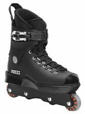 Roces Mens M12 UFS Aggressive Street Italian Inline Skates Black 101183 00001
