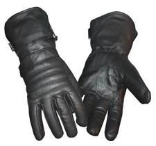 Redline Men's Winter Gauntlet Thinsulate Leather Gloves w/ Rain Cover G-051